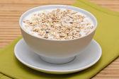 Delicious and healthy granola or muesli — Stock Photo