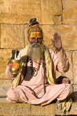 Hint sadhu (Kutsal adam) — Stok fotoğraf