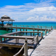 Wooden pier, Thailand. — Stock Photo