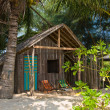 Tropical beach house, Thailand — Stock Photo