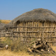 Stock Photo: Lonely cabin in desert near Jaisalmer, India