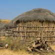Lonely cabin in the desert near Jaisalmer, India — Stock Photo