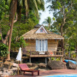 Beach bungalow , Thailand . — Stock Photo #24999427