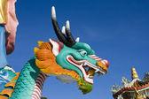 Dragon staty — Stockfoto