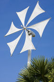 Wind turbine blade — Stock Photo