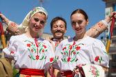 游行队伍胜利日 9,2013年基辅,乌克兰 — 图库照片