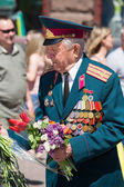 Parade Victory on May 9, 2013 Kiev, Ukraine — Foto Stock