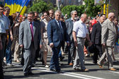 Parade Victory on May 9, 2013 Kiev, Ukraine — Photo