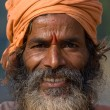 Indisadhu (holy man). Devprayag, Uttarakhand, India. — Stock Photo #25145799