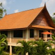 Stock Photo: Tropical beach house, Thailand