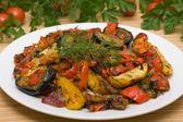 Geroosterde groenten — Stockfoto