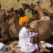 Pushkar Fair ( Pushkar Camel Mela ) Rajasthan, India — Стоковая фотография