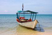 Boat on the sea — Stock Photo