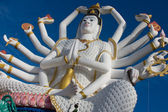 Statue of Shiva on Koh Samui island in Thailand — Stock Photo