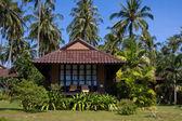 Beach house — Stockfoto