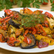 Roasted vegetables — Foto de Stock