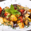 Roasted vegetables — Stock fotografie