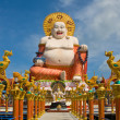 Stock Photo: Smiling Buddha of wealth statue on Koh Samui, Thailand