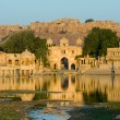 Gadi Sagar Gate, Jaisalmer, India — Foto Stock #29014709
