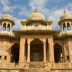 Gatore Ki Chhatriyan, Jaipur, Rajasthan, India. — Stock Photo