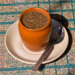 Stock Photo: Tea with cinnamon and anise