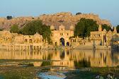 гади сагар ворота, джайсалмер, индия — Стоковое фото