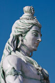 Estatua de shiva en rishikesh, india — Foto de Stock