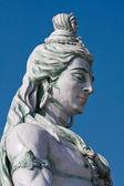 Estátua de shiva em rishikesh, índia — Foto Stock