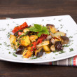 roasted vegetables&quot — Stock Photo #29189947