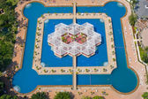 Beautiful swimming pool in Pattaya, Thailand. — Stock Photo