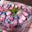 Strawberries and blueberries — Stock Photo #29496613