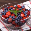 Strawberries and blueberries — Stock Photo #29496653