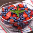 Strawberries and blueberries — Stock Photo #29712817