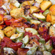 roasted vegetables&quot — Stock Photo