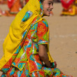 Pushkar Fair ( Pushkar Camel Mela ) Rajasthan, India — Stock Photo #29779171