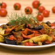 Stock Photo: roasted vegetables&quot