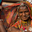 Portrait of a India Rajasthani woman — 图库照片 #30286453