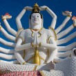 Statue of Shiva on Koh Samui island in Thailand — Stock Photo #30286537