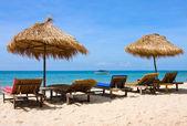 Beautiful tropical beach , Thailand — Stock Photo