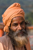 Indian sadhu (holy man) — 图库照片