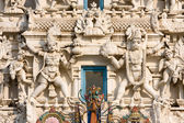 Details of Hindus god in a temple, Pushkar, Rajasthan, India. — Stock Photo