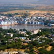 Pushkar, India. Top view. — Stockfoto