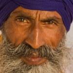 Sikh man in Amritsar, India. — Stock Photo