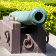 Stock Photo: Cannons outside Ministry of Defence, Bangkok