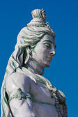 Shiva statue in Rishikesh, India — Stock Photo