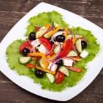 Fresh vegetable salad — Stock Photo #31016959
