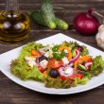 Fresh vegetable salad — Stock Photo #31016977