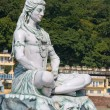 Stock Photo: Shiva statue in Rishikesh, India