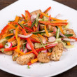 Vegetable salad with chicken — Foto Stock