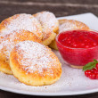 Cheese pancakes — Stock fotografie